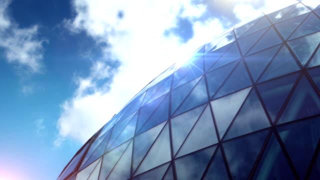 """Edifício de escritório abstrato Time-lapse """".  HD"""