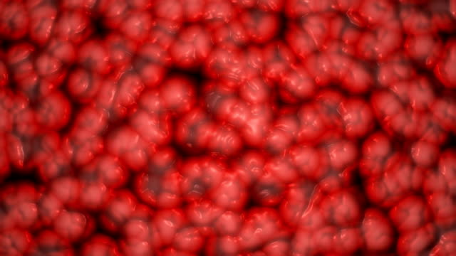 abstract organic background stock video (deformed, biological cell, brain cell) stock video - deformed stock videos & royalty-free footage