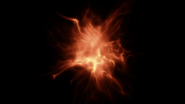 abstract organic light particle formation - nuclear fusion stock videos and b-roll footage