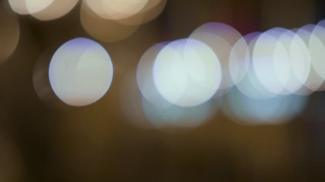 abstract out of focus background - fairy lights stock videos & royalty-free footage