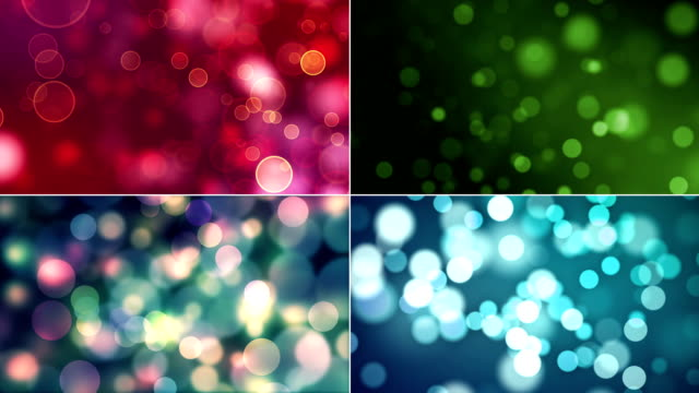abstract particle backgrounds with copy space. a collage of four different videos. - levitation stock videos & royalty-free footage