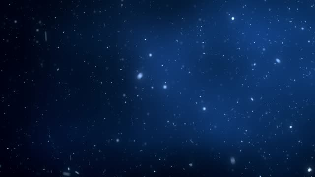 abstract particle bokeh with dark blue background - dark blue stock videos & royalty-free footage