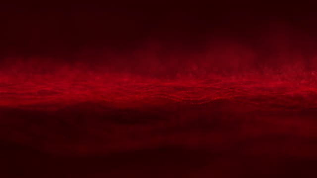 abstract particles background,loop - red stock videos & royalty-free footage