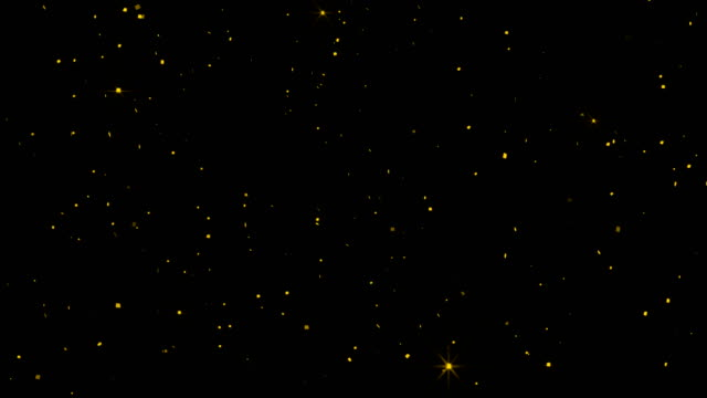 abstract particles flow in background. - scintillante video stock e b–roll