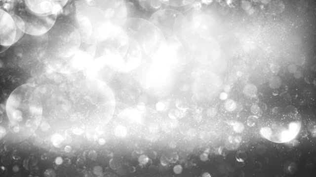 abstract particles (silver) - loop - silver colored stock videos and b-roll footage