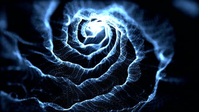 vídeos y material grabado en eventos de stock de abstract partículas - fantasía