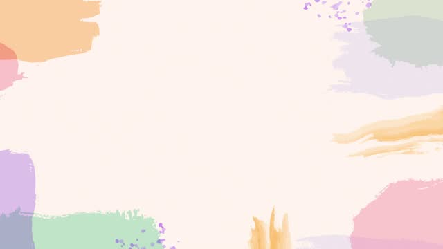 abstract pastel colored paper style brush paint animation background loopable stock video with copy space - dark blue stock videos & royalty-free footage