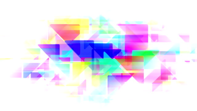 Abstract pastel  triangles loopable background footage