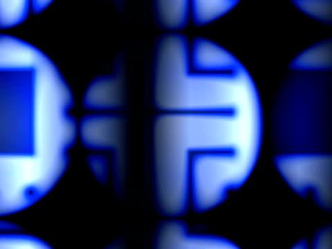 vídeos de stock, filmes e b-roll de cgi, abstract pattern - movimento perpétuo
