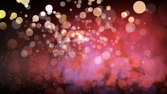 stockvideo's en b-roll-footage met abstract roze bokeh textuur achtergrond - vuurvliegje