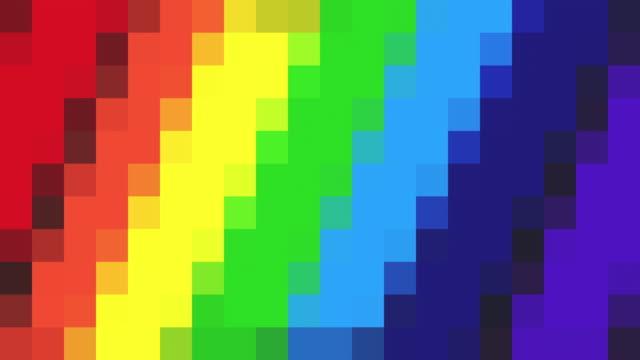 Abstract korrelig achtergrond - regenboog gekleurde