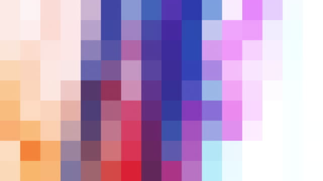 abstract pixelated background - coloured background stock videos & royalty-free footage