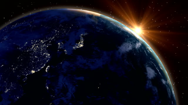 abstract planet earth loopable - big bang stock videos and b-roll footage