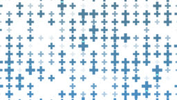 Abstract plus sign pattern background.Element shape texture.Blue square pattern bakground