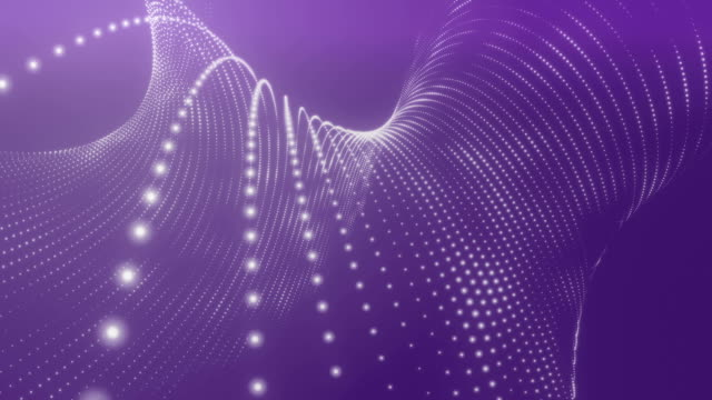 Abstract Purple Background Loopable
