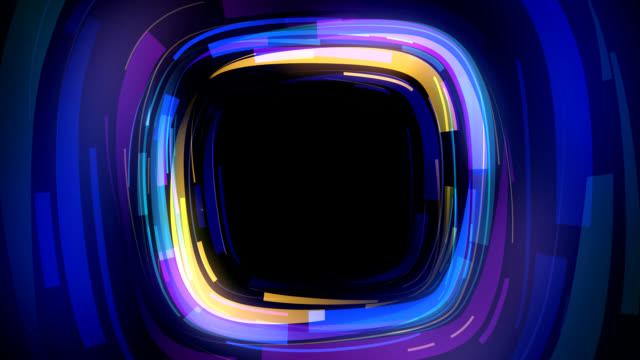 Abstract quad shape