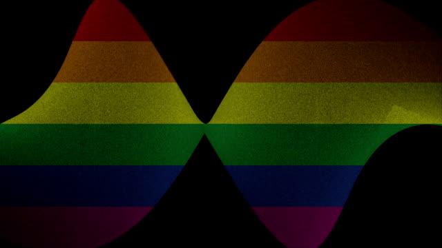 Abstract rainbow motion