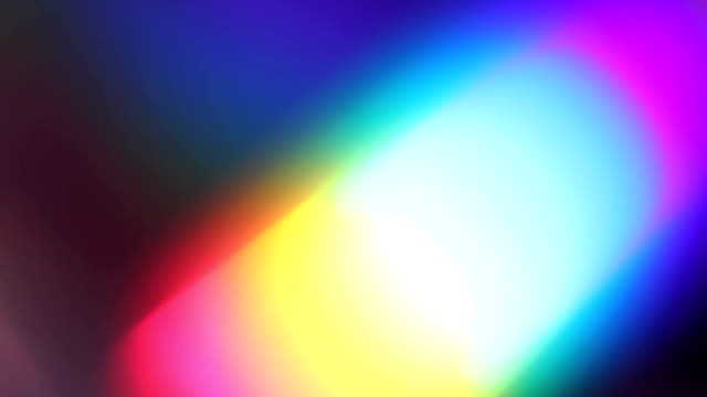 abstract rainbow - light effect stock videos and b-roll footage