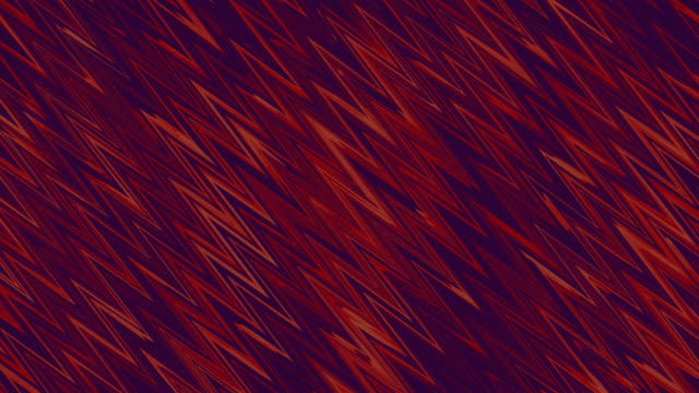 abstract red and black texture zigzag background stylized geometric waves stock video - zigzag stock videos & royalty-free footage