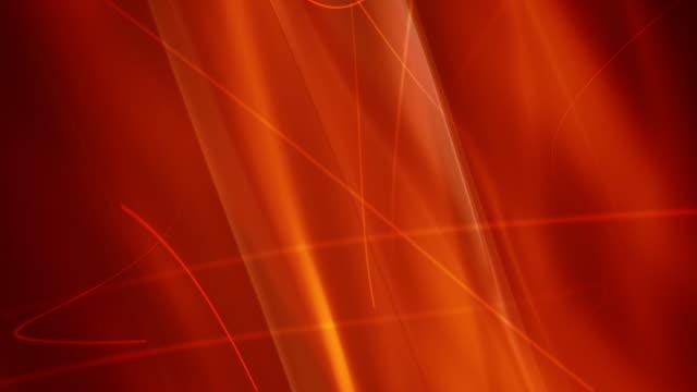 vídeos de stock e filmes b-roll de animação de fundo abstrato vermelho. - fluir