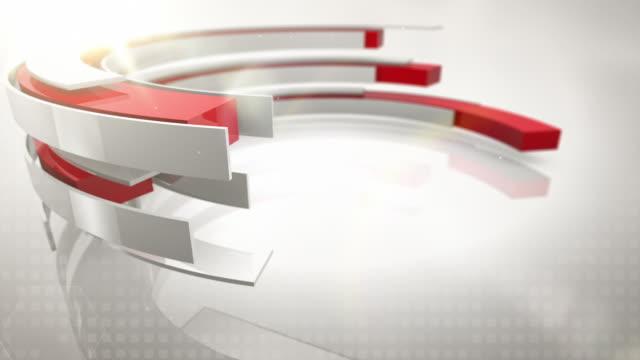 vídeos y material grabado en eventos de stock de anillos de bucles de fondo abstracto - 3 de bloqueo rojo (hd) - haz de luz