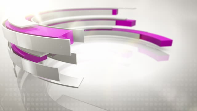 abstract rings background loops - (hd) - pink background stock videos and b-roll footage