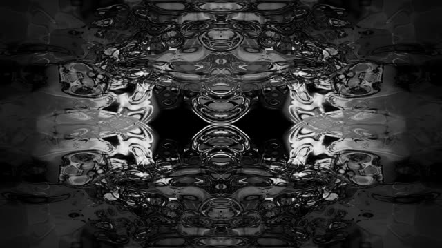abstract rorschach imagery forms and flows. - kaleidoscope pattern stock videos & royalty-free footage