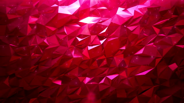 Abstract ruby triangle background