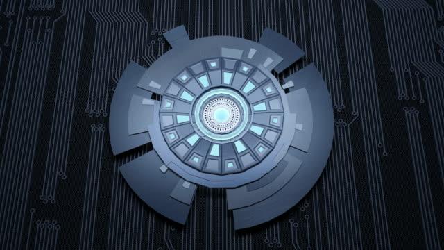 Abstracte sciencefiction futuristische achtergrond