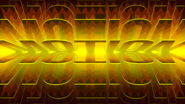 abstract seamless loop animation with rotation of the word motion. 3d rendering. 4k, ultra hd resolution. digital art - optical illusion stock videos & royalty-free footage