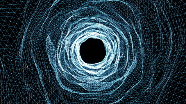 abstract seamless tunnel motion background - hole stock videos & royalty-free footage