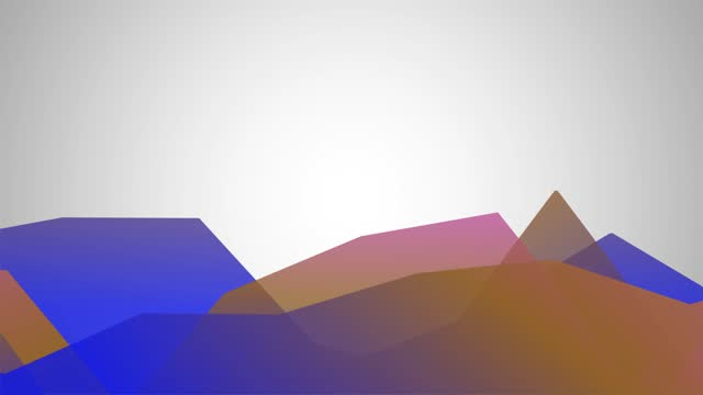 abstract seamless waves low poly style hard cornered and pastel-colored background stock video with copy space - vinjettering bildbanksvideor och videomaterial från bakom kulisserna