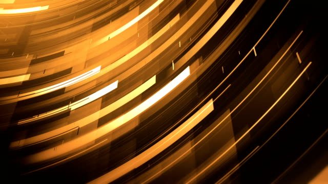 abstract shapes background (gold) - loop - award stock videos & royalty-free footage