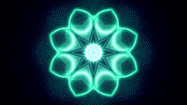 abstract shapes symmetry loop - kaleidoscope pattern stock videos and b-roll footage