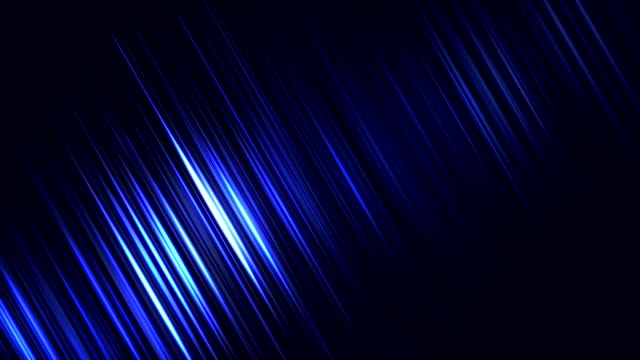 Abstracte glimmende lijnen