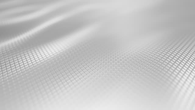 abstract shiny surface - motion background - white, gray, loopable - white stock videos & royalty-free footage