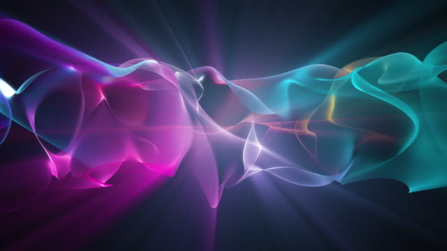 abstract shiny wave background - swirl stock videos & royalty-free footage