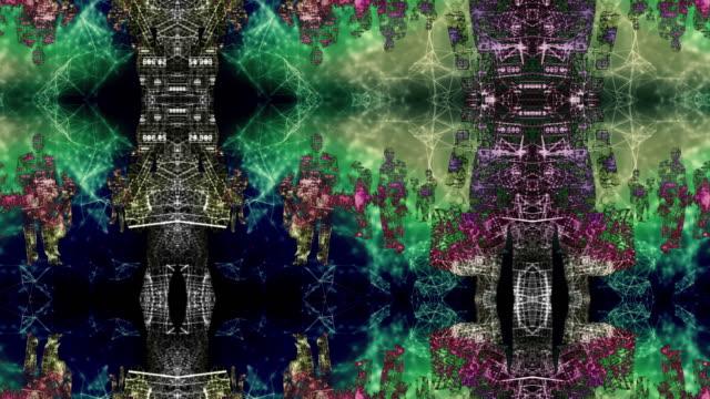 vídeos de stock e filmes b-roll de abstract silhouettes - mapa múndi