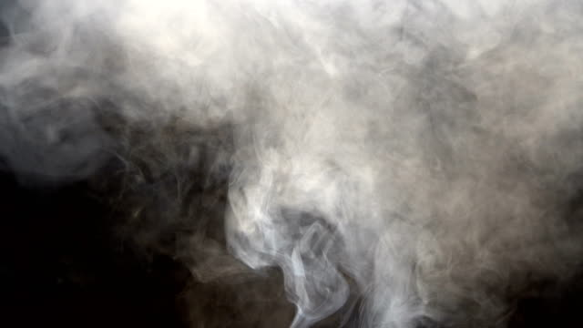 abstract smoke clouds, all movement blurred, intention out of focus - transparent stock videos & royalty-free footage