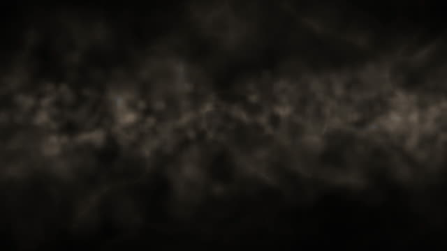 Abstract smoke particles background,loop