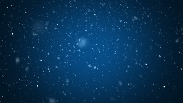 abstract snow with dark blue background - christmas stock videos & royalty-free footage