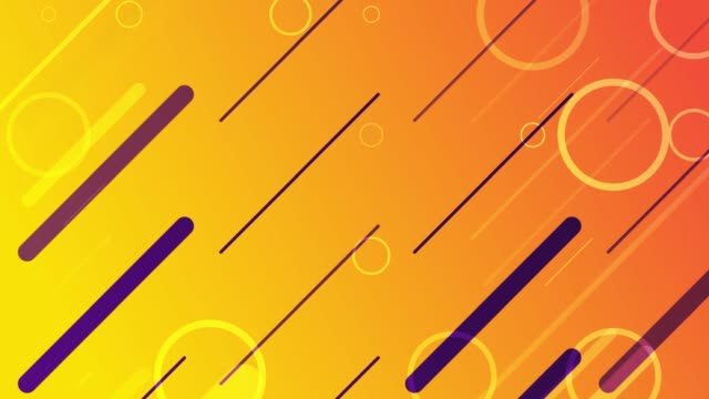 4k abstract soft background (loopable) - orange colour background stock videos & royalty-free footage