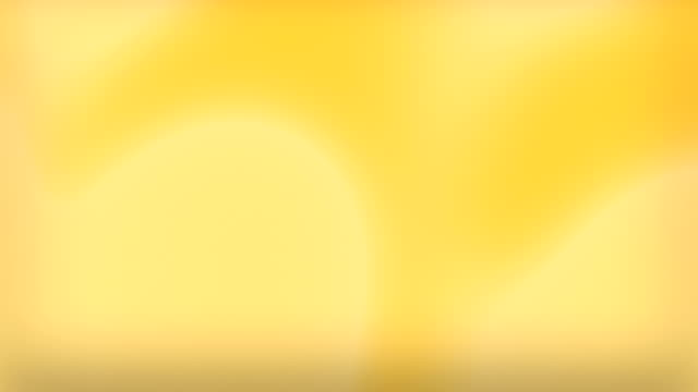 abstract soft blured background (loopable) - yellow background stock videos & royalty-free footage