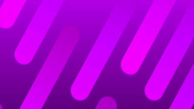Abstract Soft Neon Lines Background - Loopable