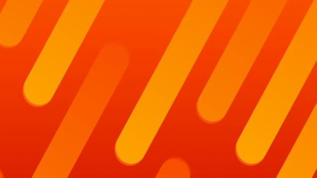 abstract soft neon lines background - loopable - orange colour stock videos & royalty-free footage