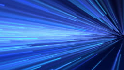 Abstract speed motion in blue