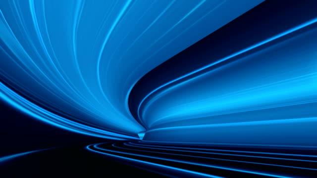 abstrakte geschwindigkeit bewegung im autobahn-tunnel - trennungslinie stock-videos und b-roll-filmmaterial