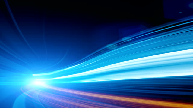 abstract speed motion in highway tunnel - light effect stock videos & royalty-free footage