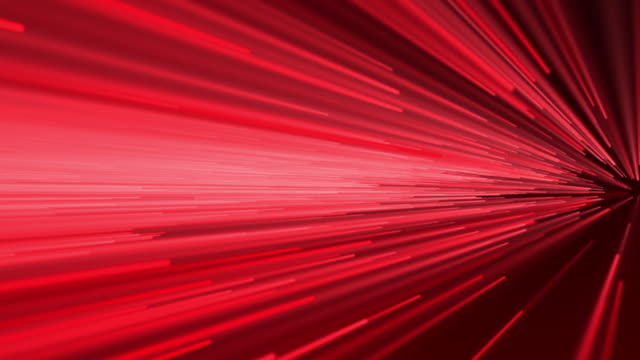 Abstract speed motion in red