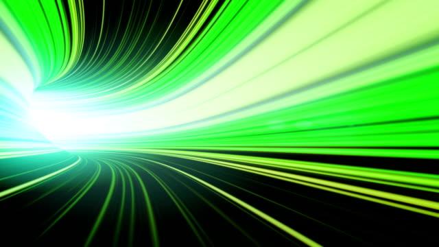 Abstrakte Geschwindigkeit Bewegung im tunnel